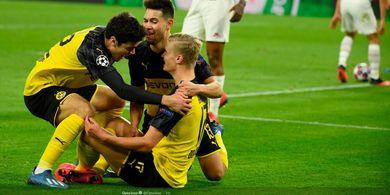 Hasil Liga Champions, 2 Gol Erling Haaland dalam 8 Menit Buyarkan PSG