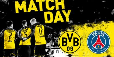 Starting XI Dortmund Vs PSG, Neymar Comeback!