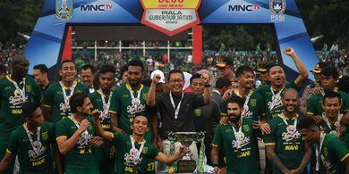Kalah di Final Piala Gubernur Jatim 2020, Pelatih Persija: Persebaya Layak Menang