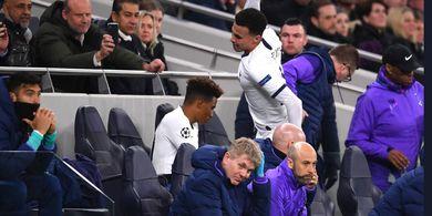 Dele Alli Mengamuk, Mourinho: Dia Marah ke Diri Sendiri, Bukan Saya