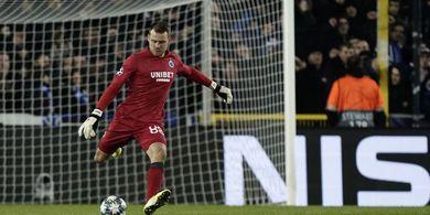 Babak I - Eks Kiper Liverpool Bikin Assist untuk Club Brugge, Manchester United Balas Lewat Martial