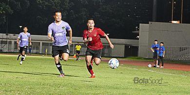 Uji Coba Perdana, Timnas Indonesia Asuhan Shin Tae-yong Dikalahkan Persita 1-4