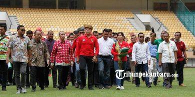 PSSI Minta Jaminan Pemprov Untuk Renovasi Cepat Stadion Utama Riau