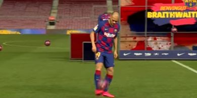 VIDEO - Gagal Rainbow Flick, Striker Baru Barcelona Dinyinyiri Netizen
