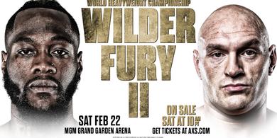 Video Tyson Fury Lakukan Aksi Menjijikan pada Tubuh Deontay Wilder