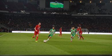 Osvaldo Haay Bawa Persija Unggul atas Geylang pada Babak Pertama
