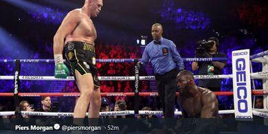 Akhirnya Tyson Fury Ungkap Alasan Jilat Darah Deontay Wilder