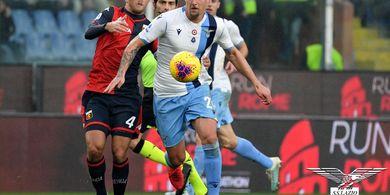 Hasil Liga Italia - Ciro Immobile Cetak Gol Ke-27, Lazio Menang Lagi