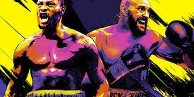 Brutal Habisi Deontay Wilder, Tyson Fury Daratkan Pukulan 3 Kali Lipat Lebih Banyak