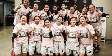 Skuad Putri DBL Indonesia All-Star Juarai Turnamen Basket di AS