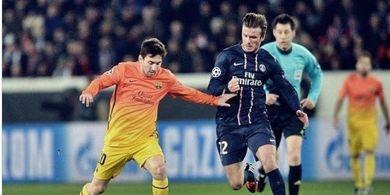 Striker Barcelona Lionel Messi Masih Diincar Klub Milik David Beckham
