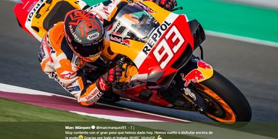 Tes Pramusim MotoGP 2020 - Marc Marquez Sudah Temukan Masalah Honda