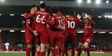 Master Bikin Sport Jantung, Liverpool Raih Hasil Ke-6 via Gol 10 Menit Terakhir