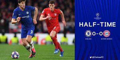 Hasil Babak I - Dominasi Bayern Muenchen atas Chelsea Masih Belum Membuahkan Hasil