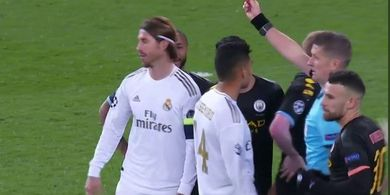 Soal Kartu Merah, Sergio Ramos Sudah Terkutuk Seperti Ibrahimovic