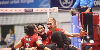 Hasil Proliga 2020 - Tim Putri Jakarta Pertamina Lolos Final Four