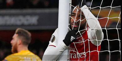 Hasil Liga Europa - Kalah Gol Tandang dari Olympiacos, Arsenal Gugur