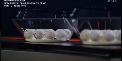 Link Live Streaming Undian Babak 16 Besar Liga Europa