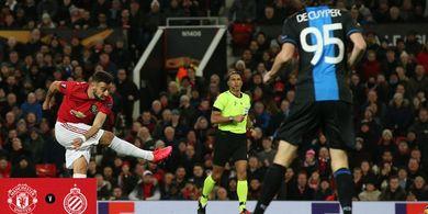 Penalti Tipuan Bruno Fernandes Jadikan Dirinya Terbaik di Liga Europa