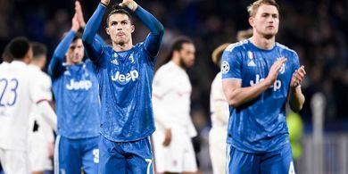 Cristiano Ronaldo Sampaikan 1 Kalimat Super Percaya Diri soal Peluang Juventus di Liga Champions