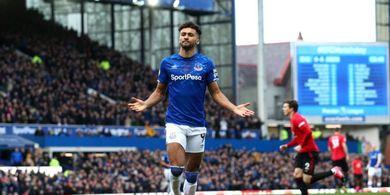 Manchester United Terkejut dengan Harga yang Diminta Everton untuk Dominic Calvert-Lewin