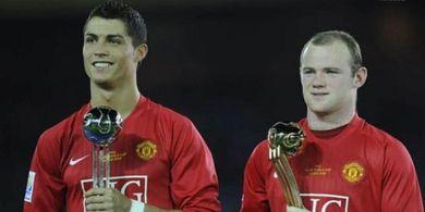 Konflik Rooney dan Ronaldo di Piala Dunia 2006 Berdampak Bagus ke Man United