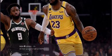 LA Lakers vs Milwaukee Bucks - LeBron James Hancurkan Mental Lawan, Loloskan Tim ke Play-off