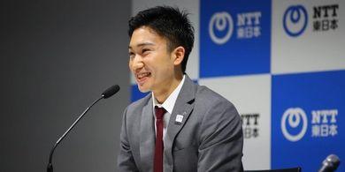 Kento Momota Siap Menonton Lomba Lari 100 Meter pada Olimpiade