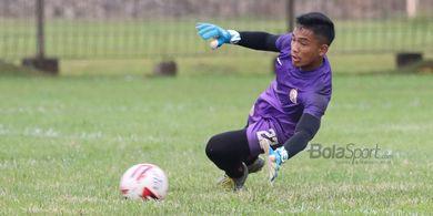 Penjaga Gawang Persija Bicara Soal Persaingan Empat Kiper Timnas U-19 Indonesia
