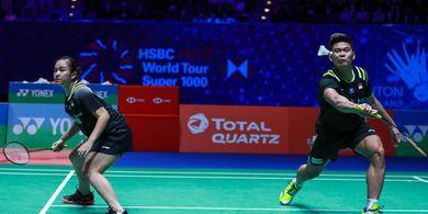 Hasil BWF World Tour Finals 2020 - Praveen/Melati Tumbang dari Puavaranukroh/Taerattanachai