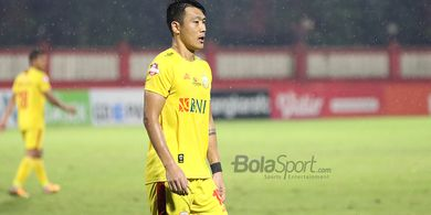 Latihan Bersama di PTIK, Pemain Bhayangkara FC Tetap Jaga Jarak