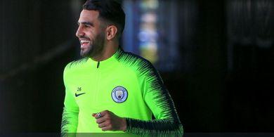 Man City Punya Segalanya, Riyad Mahrez Optimistis Juara Liga Champions