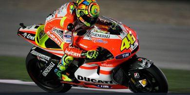 Penyesalan Valentino Rossi, Dua Musim Babak Belur Bareng Ducati