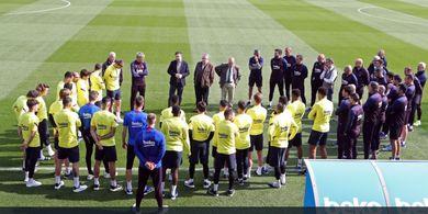 Konflik Barcelona Jilid II - Kini Tak Hanya Lionel Messi, Semua Pemain Ikut Tempur
