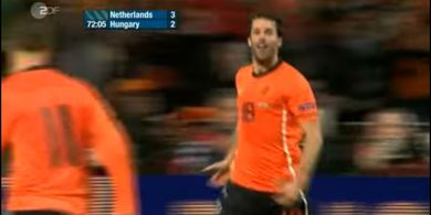 DUEL KLASIK, 29 Maret 2011 - Cap dan Gol Terakhir Ruud van Nistelrooy buat Belanda