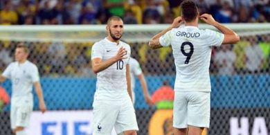 Balas Sindiran Benzema, Giroud: Saya Gokar, tapi Juara Dunia Gokar!