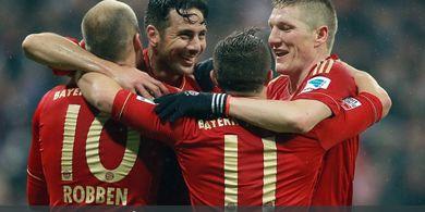 DUEL KLASIK, 31 Maret 2013 - Pesta 9 Gol Bayern Muenchen ke Gawang Hamburg