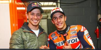 Seharusnya Marc Marquez dan Casey Stoner Jadi Rekan Setim di Repsol Honda