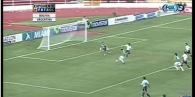 DUEL KLASIK, 1 April 2009 - Bukan April Mop, Argentina-nya Maradona dan Messi Kalah 1-6