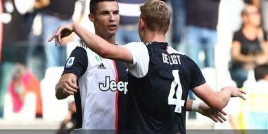 Man United Akan Manfaatkan Cristiano Ronaldo untuk Gaet De Ligt
