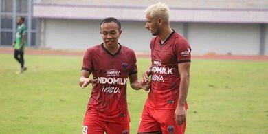Gelandang Persita Tangerang Usung Misi Spesial pada Piala Menpora 2021