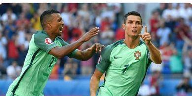 Kala Ronaldo Marah Gol Terbaiknya untuk Portugal Dianulir dan Buat Nani Minta Maaf