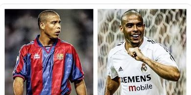VIDEO - Ronaldo Nazario Gocek 20 Bek Legendaris dan 8 Gelandang Kelas Dunia