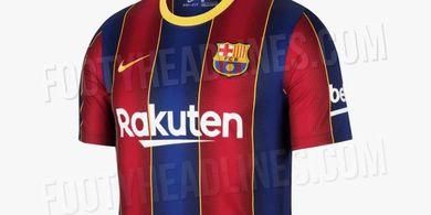 3 Jersey Barcelona Bocor ke Publik! Bagaimana Saja Modelnya?