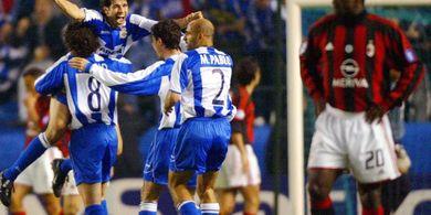 DUEL KLASIK, 7 April 2004 - AC Milan Kena Comeback di Stadion Riazor