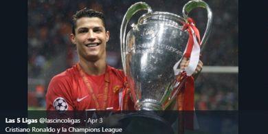 Kejadian Tak Terungkap Ronaldo, Menangis Sambil Tergeletak di Lantai
