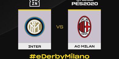 AC Milan dan Inter Bakal Gelar Derby della Madonnina di Gim PES 2020