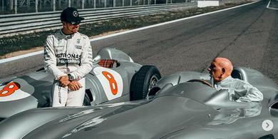 Stirling Moss Meninggal Dunia, Lewis Hamilton Kenang Kehebatannya