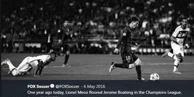 Video 4 Gol Terbaik Messi vs Bayern Muenchen, Bikin Bek Patah Pinggul