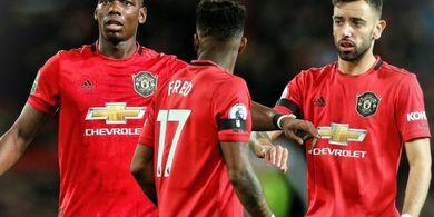 Pemain Manchester United Pun Tak Sabar Melihat Duet Paul Pogba dan Bruno Fernandes